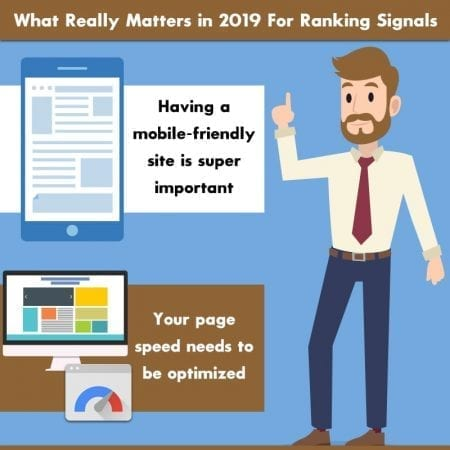 What Really Matters in 2019 For Ranking Signals