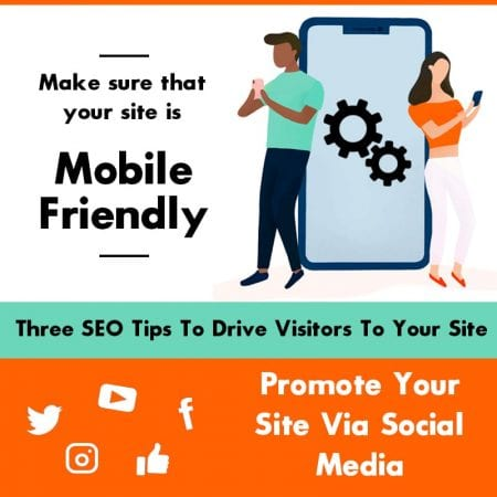 Three SEO Tips To Drive Visitors To Your Site